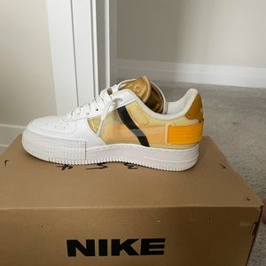 Air Force 1 gold suede